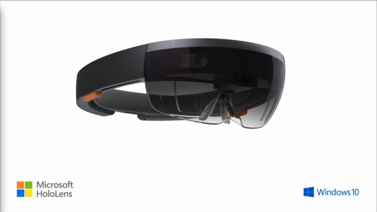 Photo of the HoloLens headset