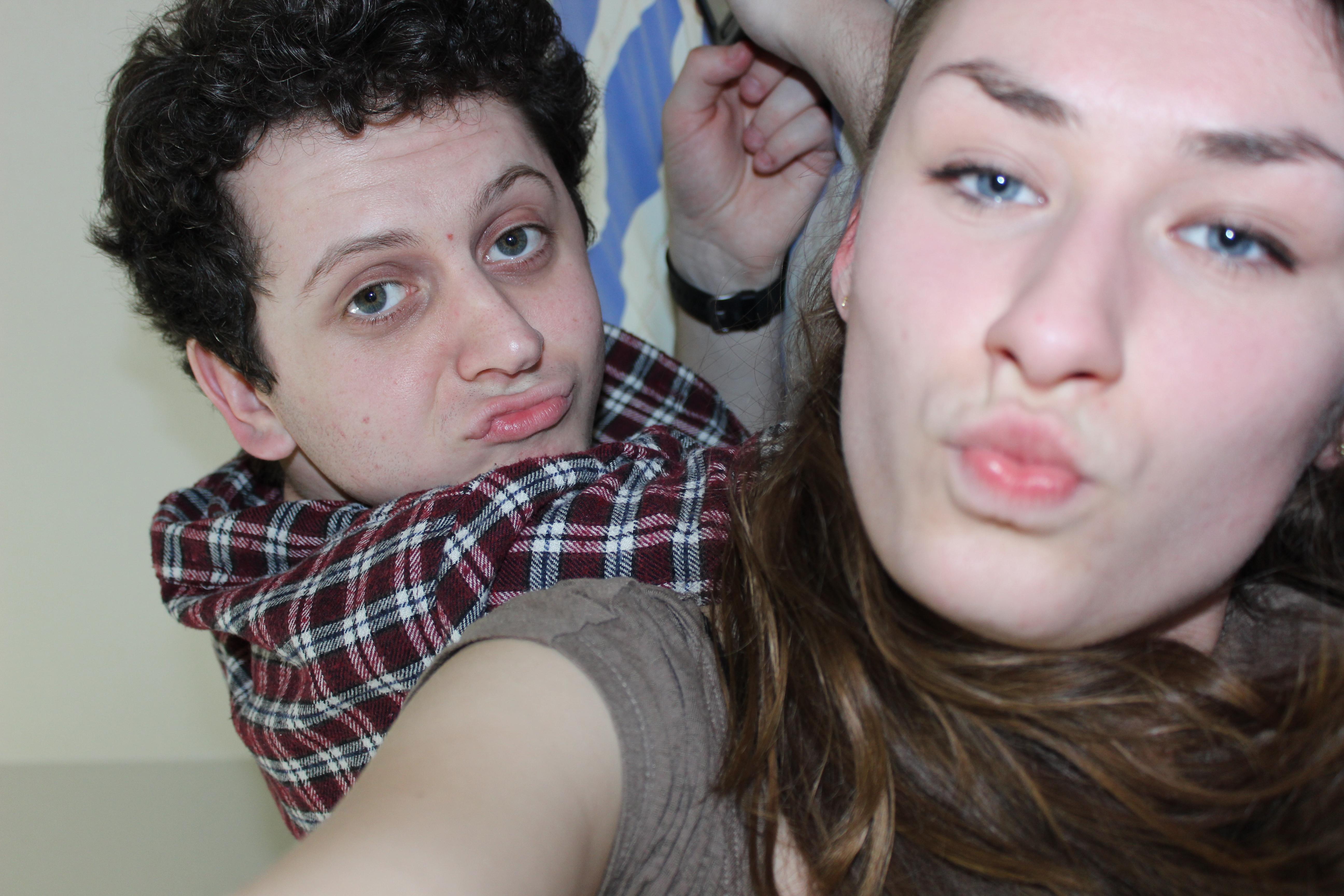 We got a little bit drunk