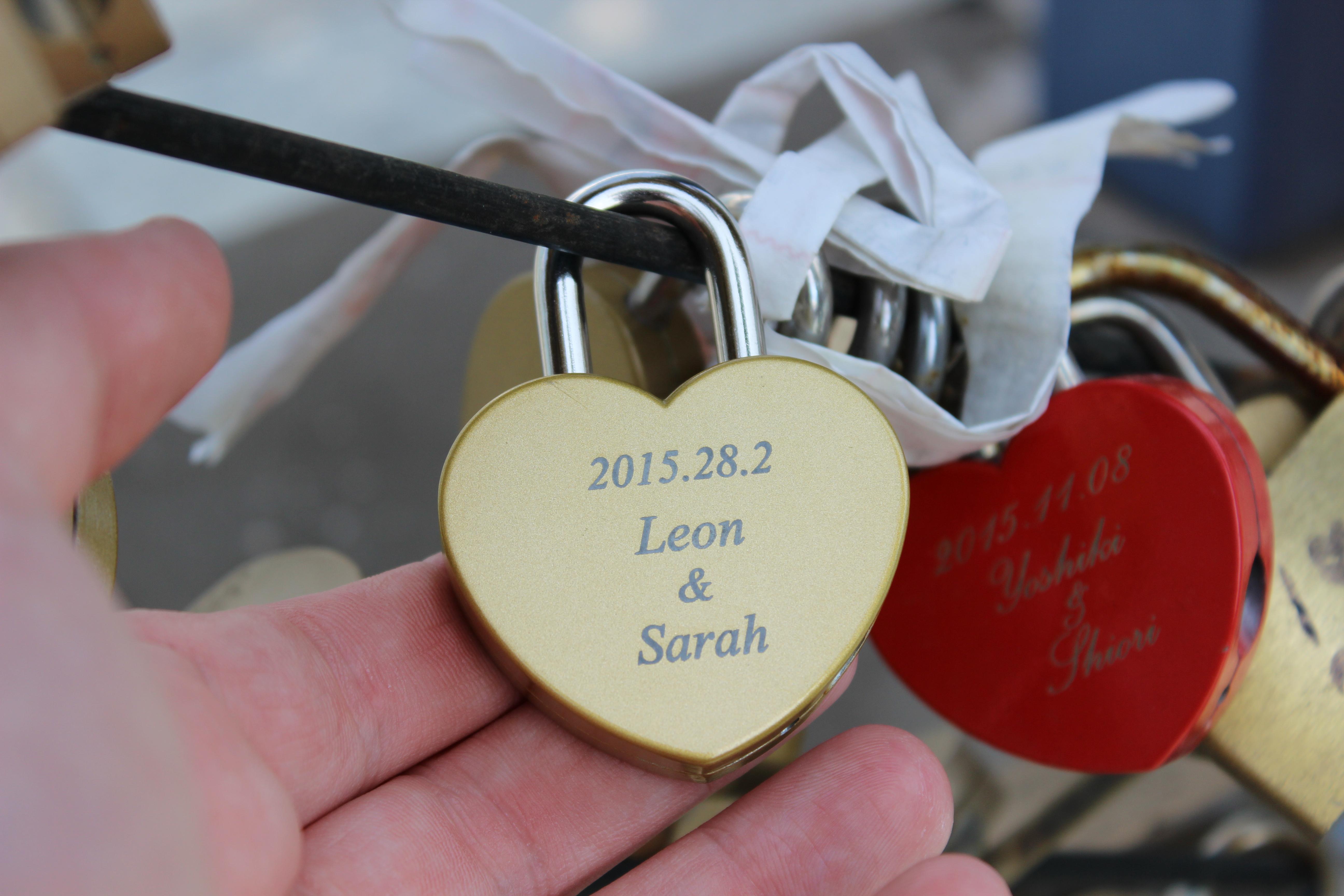 Love lock!