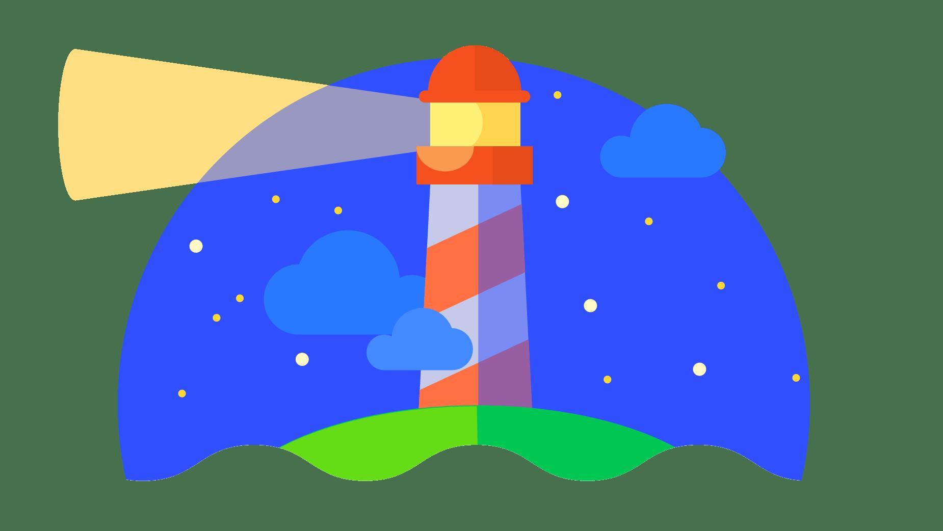Screenshot of Lighthouse
