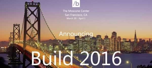 Microsoft Keynote - 30/03/2016